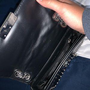 MICHAEL Michael Kors Bags - Michael Kors Jenkins Leather Shoulder Bag Black